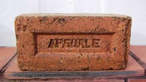 An Apedale Brick